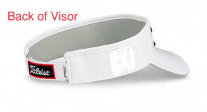 Golf Visor Back